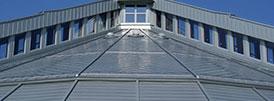 Fémlemez tetőfedés és homlokzatburkolás